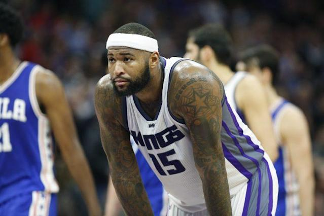 DeMarcus Cousins and the Kings are vying for a playoff spot — for now. (AP)