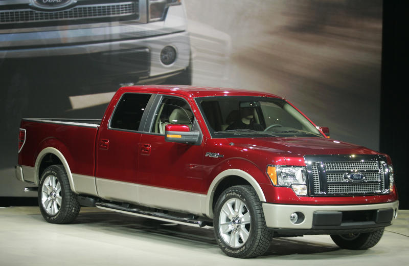 Fire Risk Forces Ford to Recall F-Series Pickup Trucks