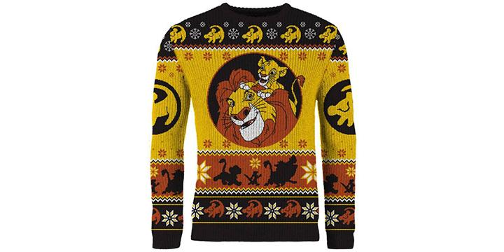 Lion King Christmas Sweater (Photo: Merchoid)
