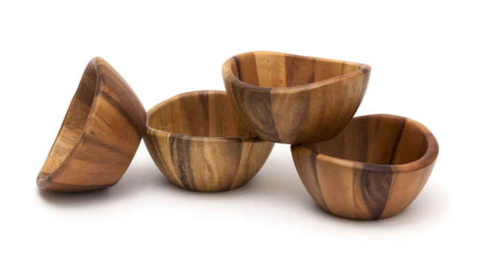 These bowl are great for fruit and salad, but you might think twice about loading them up with soup or cereal.