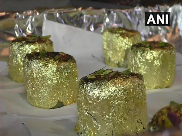 The Gold Ghari is priced at Rs 9,000 per kg. [Photo/ANI]