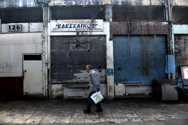 IMF 2019 growth forecasts expect the overall eurozone economy to expand by 1.2 percent, and that of Greece by 2.0 percent (AFP Photo/Sakis MITROLIDIS)