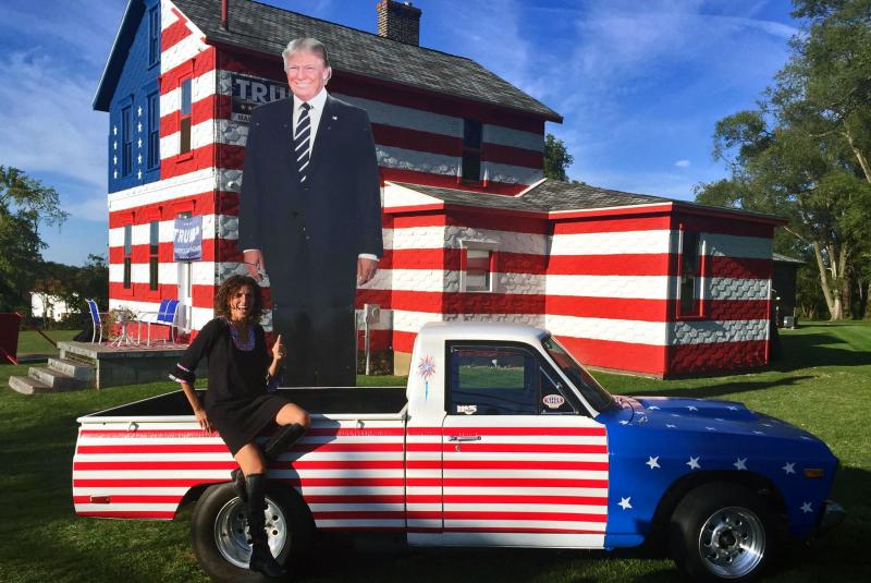 See the Donald Trump Fans Who Went All Out