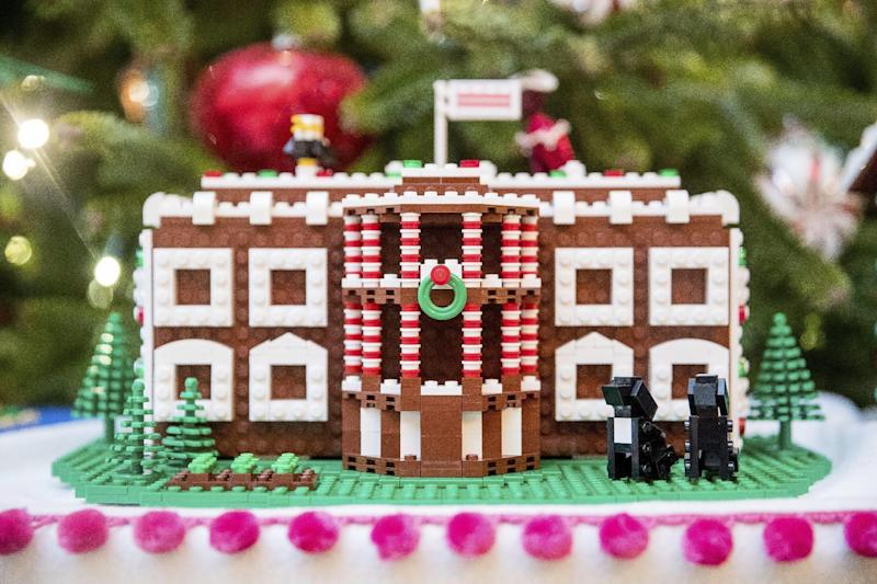 Childs Play Lego Master Builders Show Work At White House