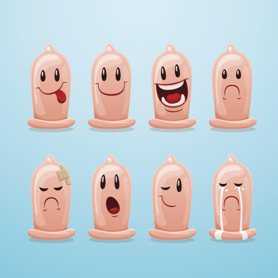 "<p>According to recent surveys, 80% of 16 to 25-year-olds say it's easier to communicate and express themselves using emojis than words, and an even higher 84% prefer using emojis over words when talking about sex. That's why earlier this year <a href=""https://www.durex.co.uk"" rel=""nofollow noopener"" target=""_blank"" data-ylk=""slk:Durex"" class=""link rapid-noclick-resp"">Durex</a> launched a campaign to lobby for a safe sex condom emoji. But while the campaign garnered amazing support, it hasn't yet got the official go ahead. ""Durex's campaign to get a condom emoji incorporated into mobile phone keyboards has still not been granted by the Unicode Consortioum – the industry body who decide which little icons we all get to use in our texts,"" explains Alix Fox, Sex & Relationships Expert for Durex. ""I believe that adding a picture of a condom packet would make it much easier for young people to start constructive conversations about safer sex. It will certainly do more to prevent the spread of STIs and HIV than a drawing of a burrito!"" Fingers crossed that in 2017, the #CondomEmoji will become a reality. [Photo: Getty] </p>"