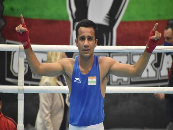 Indian boxer Deepak Kumar
