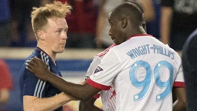 Dax McCarty Bradley Wright Phillips MLS 04292017