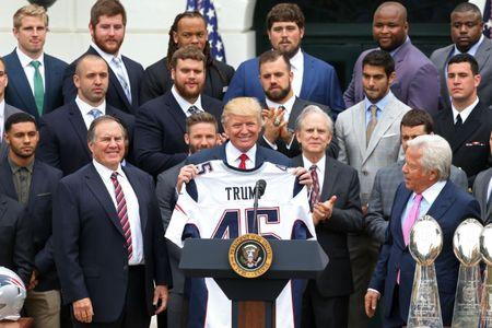 Patriots QB Tom Brady missed the NFL champs' visit to White House