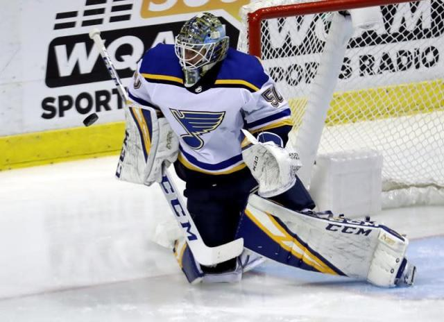Binnington, Bergeron, Strome earn NHL stars of the week honours