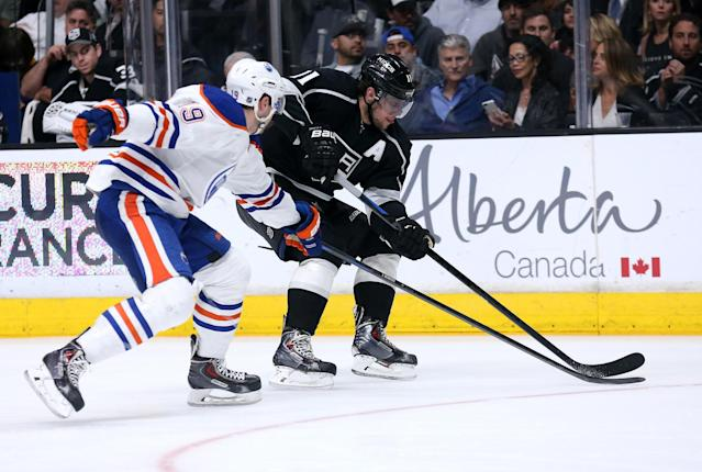 Teaching prospects the 'Kings Way' of puck protection
