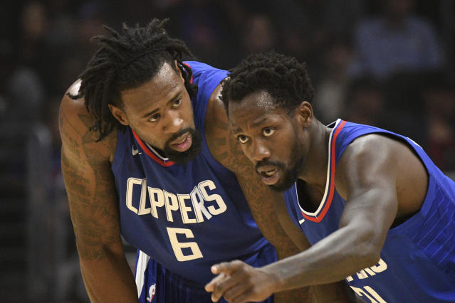"""The Clippers need <a class=""""link rapid-noclick-resp"""" href=""""/nba/players/4647/"""" data-ylk=""""slk:Patrick Beverley"""">Patrick Beverley</a> on the court. He hasn't been lately, and he won't be again this season. (AP)"""