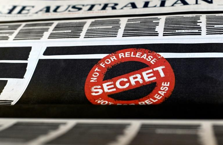 The media campaign was sparked by Australian police raids on national broadcaster ABC and a News Corp journalist's home