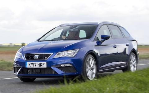 2017 Seat Leon ST driving front