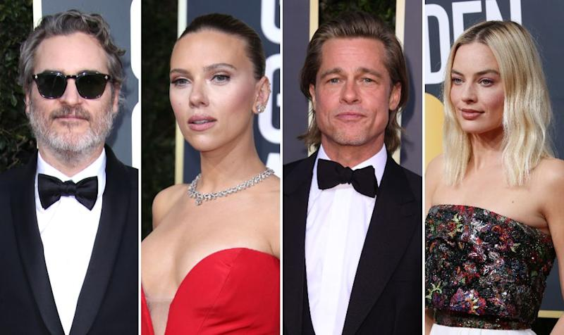 A selection of the stars nominated at this year's Baftas (Photo: Shutterstock)