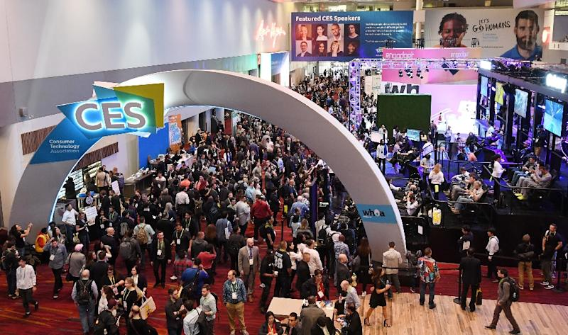 The 2019 Consumer Electronics Show in Las Vegas, one of the world's largest trade events, opens amid a backdrop of falling public trust in the technology sector (AFP Photo/Ethan Miller)