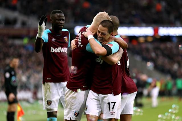 West Ham 2 Watford 0: Javier Hernandez and Marko Arnautovic goals seal key win for Hammers