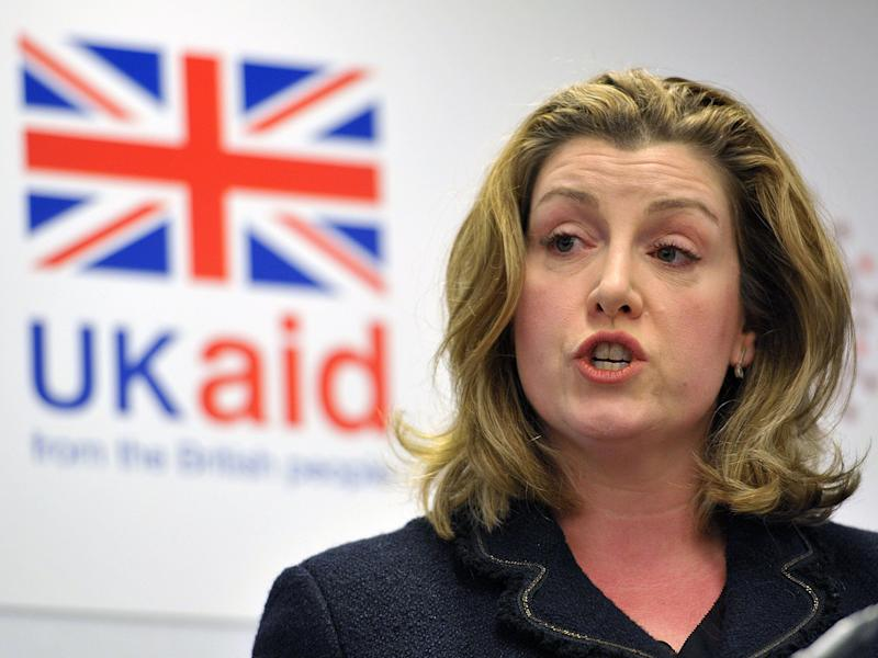 Penny Mordaunt has threatened to cut aid funding of charities in the wake of the scandal: PA