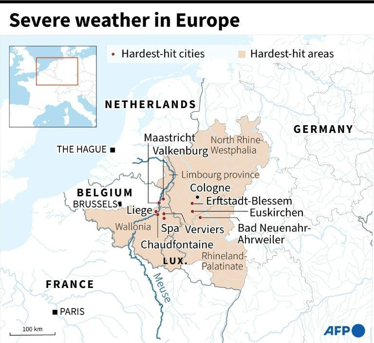 Severe weather in Europe