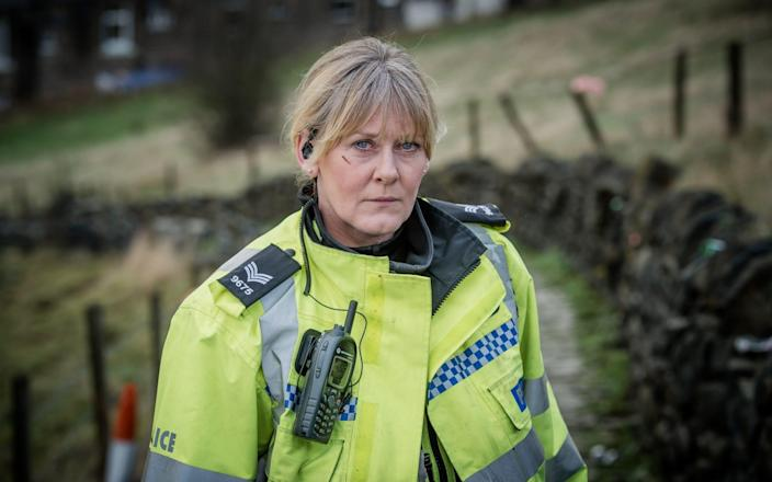 Sarah Lancashire starred as Sgt Catherine Cawood in Happy Valley - PA