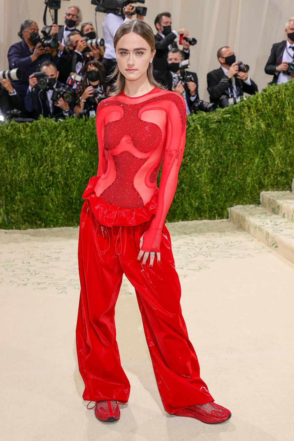 """<h1 class=""""title"""">Ella Emhoff, The 2021 Met Gala Celebrating In America: A Lexicon Of Fashion - Arrivals</h1><cite class=""""credit"""">Getty</cite>"""