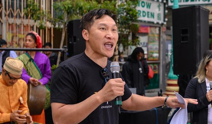 Eddy Zheng (pictured in 2019) moved from Guangzhou to California at the age of 12. Photo: San Francisco Department of Children, Youth and Their Families