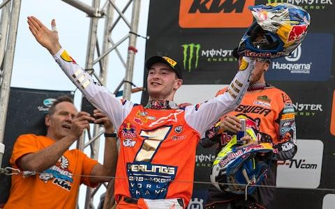 Jeffrey Herlings - 2018 MXGP motocross world champion - Credit: Ray Archer
