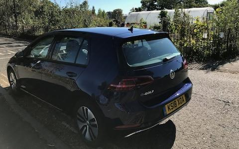 Volkswagen e-Golf long-term Craig Thomas