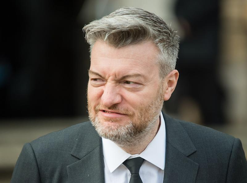 "LONDON, ENGLAND - APRIL 04: Charlie Brooker attends the ""Our Planet"" global premiere at Natural History Museum on April 04, 2019 in London, England. (Photo by Samir Hussein/Samir Hussein/WireImage)"