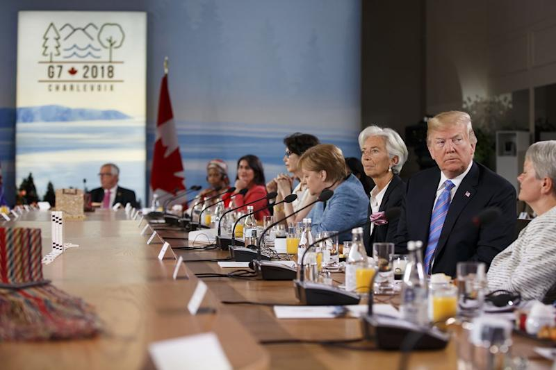 G-7 Summit Gets Its Communique But Only Papers Over Trade Spats