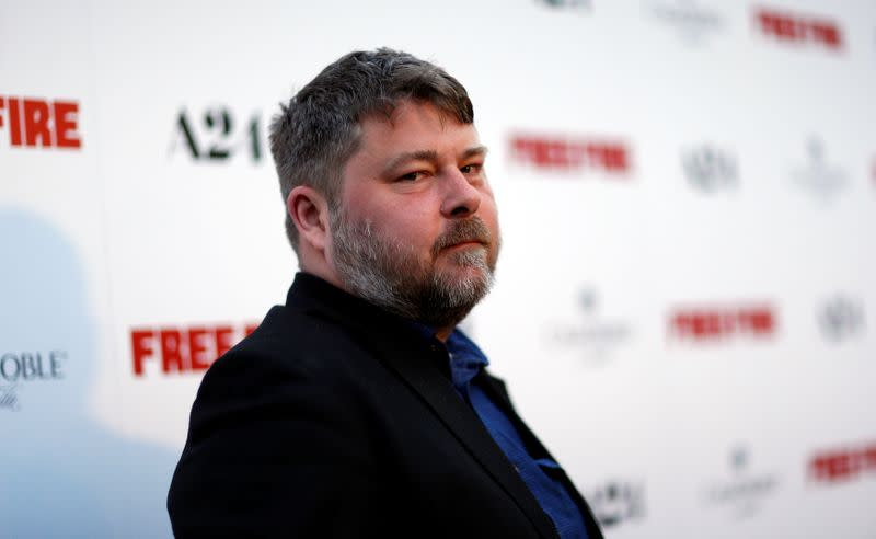 """Director of the movie Wheatley poses at the premiere of """"Free Fire"""" in Los Angeles"""