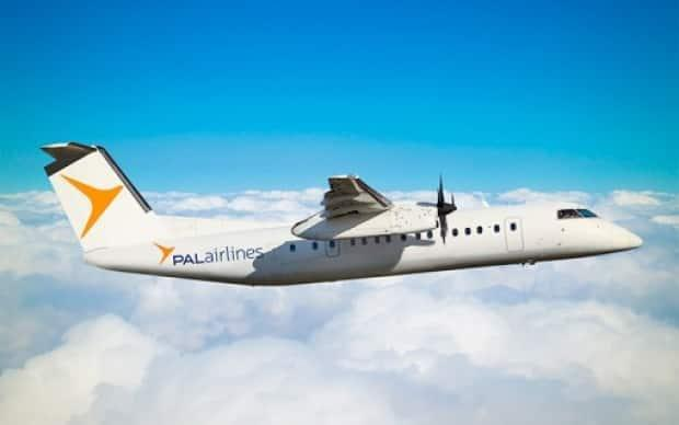 PAL Airlines will offer flights from Fredericton to Deer Lake and St. John's Newfoundland, starting May 31.  (PAL Airlines - image credit)