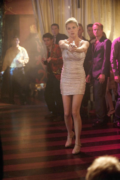 """Emily VanCamp in """"Lineage,"""" the eighth episode of """"Revenge"""" Season 2."""