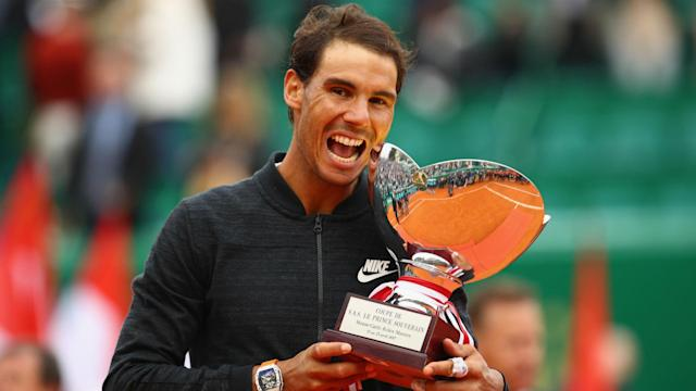 """After securing his 50th clay-court title, Rafael Nadal said: """"I feel comfortable here. I love to play in these tournaments"""""""
