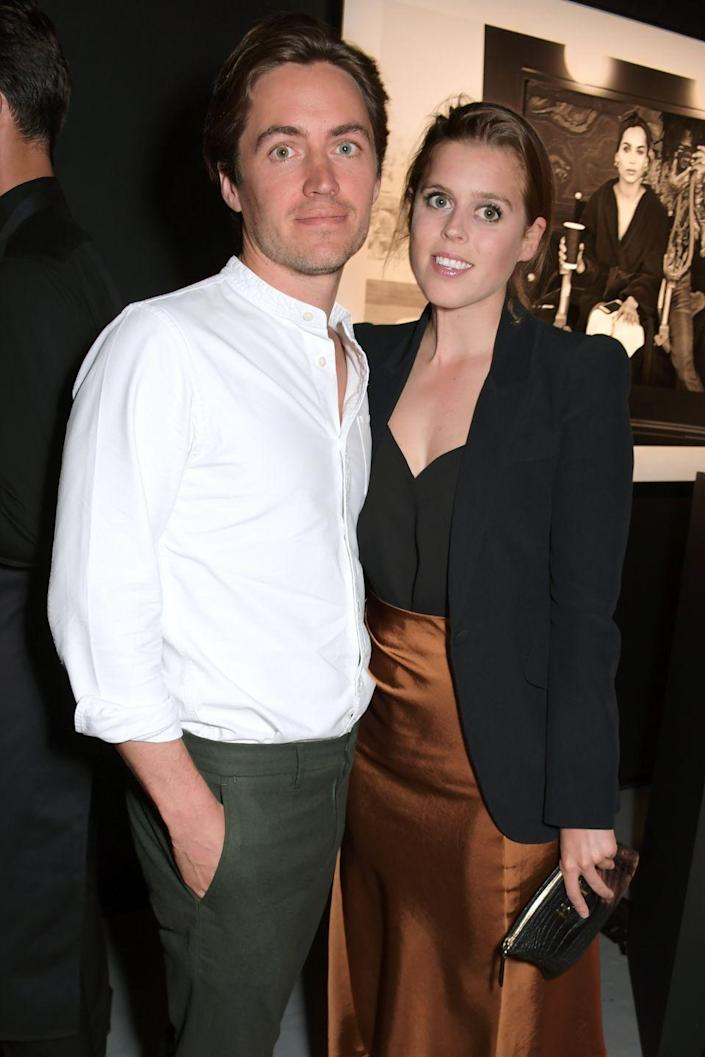 """<p>Much like her sister's wedding, when Princess Beatrice walks down the aisle with <a href=""""https://www.harpersbazaar.com/celebrity/latest/a25235705/who-is-princess-beatrice-boyfriend-edoardo-mapelli-mozzi/"""" rel=""""nofollow noopener"""" target=""""_blank"""" data-ylk=""""slk:Edoardo Mapelli Mozzi"""" class=""""link rapid-noclick-resp"""">Edoardo Mapelli Mozzi</a>, the BBC won't be screening it. <a href=""""https://www.mirror.co.uk/news/uk-news/princess-beatrices-royal-wedding-wont-21214045"""" rel=""""nofollow noopener"""" target=""""_blank"""" data-ylk=""""slk:The Mirror"""" class=""""link rapid-noclick-resp""""><em>The Mirror</em></a> reported that the BBC would not broadcast the whole wedding, instead offering news coverage of the event at intervals throughout the day. It's unclear whether ITV will nab the rights instead. At this point (April 2020), the wedding has been called off for now because of the coronavirus pandemic.</p>"""