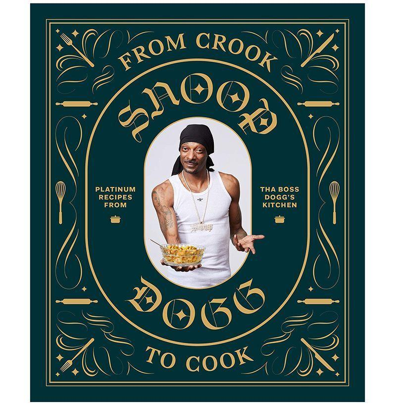 """<p><strong>By Snoog Dogg</strong></p><p>amazon.com</p><p><strong>$14.97</strong></p><p><a href=""""https://www.amazon.com/dp/1452179611?tag=syn-yahoo-20&ascsubtag=%5Bartid%7C10054.g.12222340%5Bsrc%7Cyahoo-us"""" rel=""""nofollow noopener"""" target=""""_blank"""" data-ylk=""""slk:Buy"""" class=""""link rapid-noclick-resp"""">Buy</a></p><p>Snoop writes a hell of a cookbook, no matter if you're stoned or totally sober.</p>"""