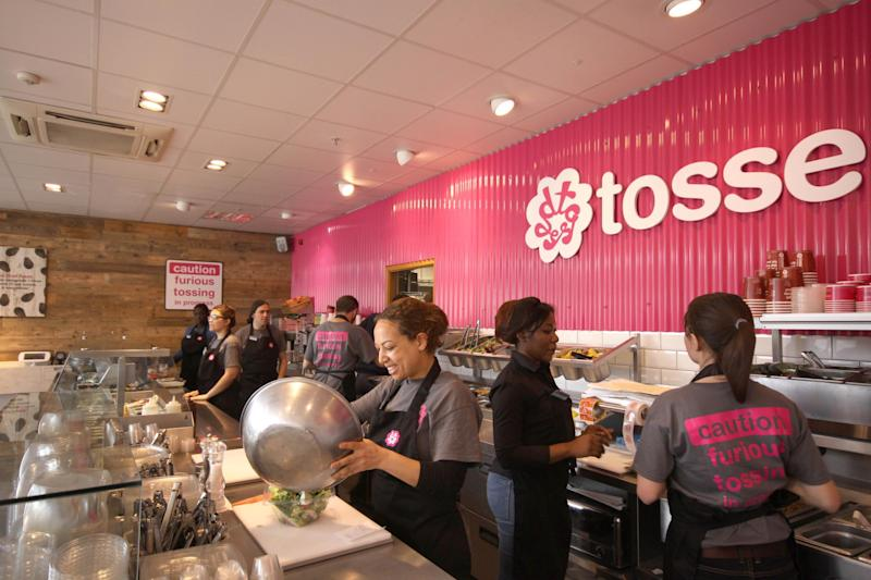 Salad bar chain Tossed has a number of sites in London