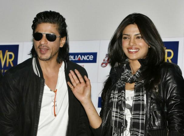 Shah Rukh Khan with Priyanka Chopra