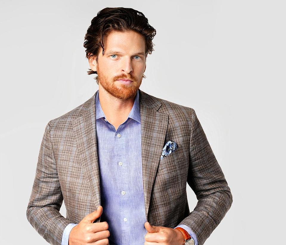A look from Joseph Abboud.