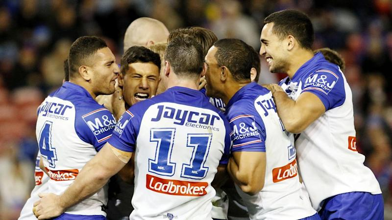 Canterbury have ruled a line under a horror month with a 36-16 NRL win over Newcastle