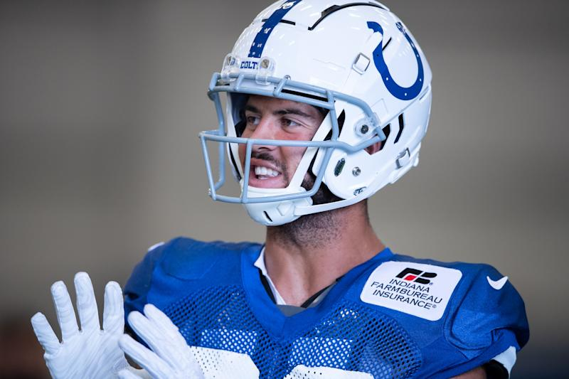 Expect Indianapolis Colts WR Michael Pittman Jr. to see a lot of action as a rookie. (Photo by Zach Bolinger/Icon Sportswire via Getty Images)