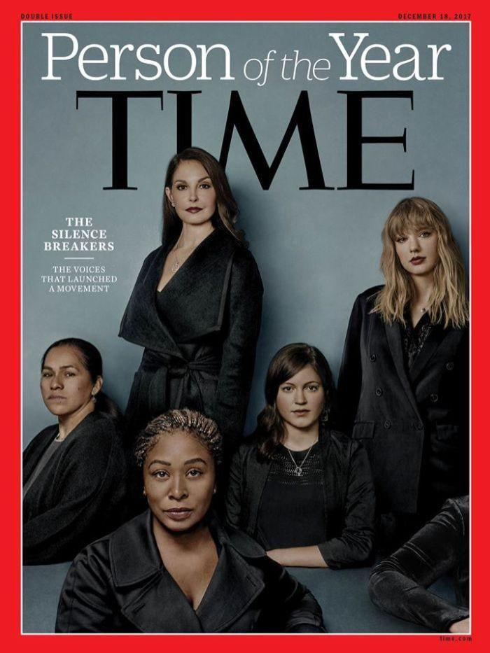 The singer appeared on the cover of Time magazine's Person of the Year. Source: Time