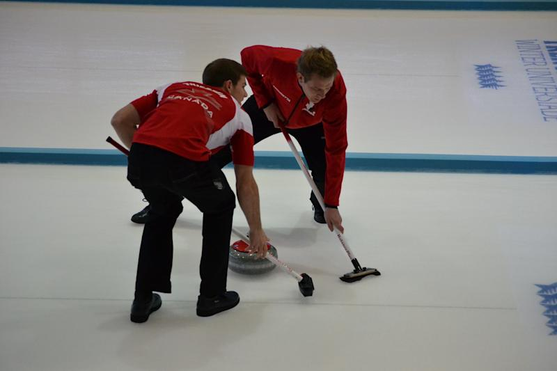 Men's Curling at the 2013 Winter Universiade in Italy
