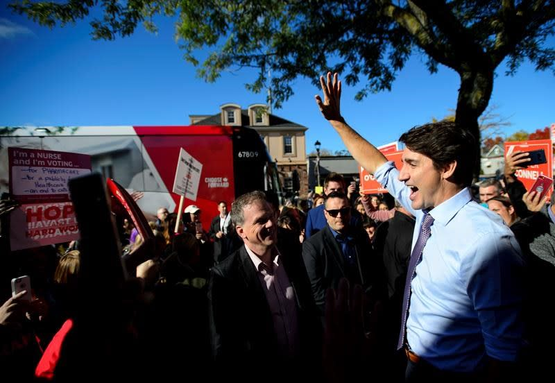 Trudeau invokes memory of his father to inspire rally on his 100th birthday