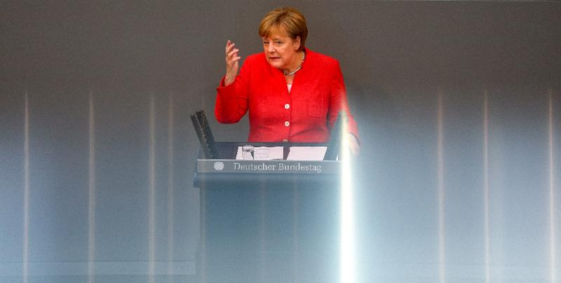 The AfD uses every chance it gets in the Bundestag to rail against immigration, Islam and especially Angela Merkel
