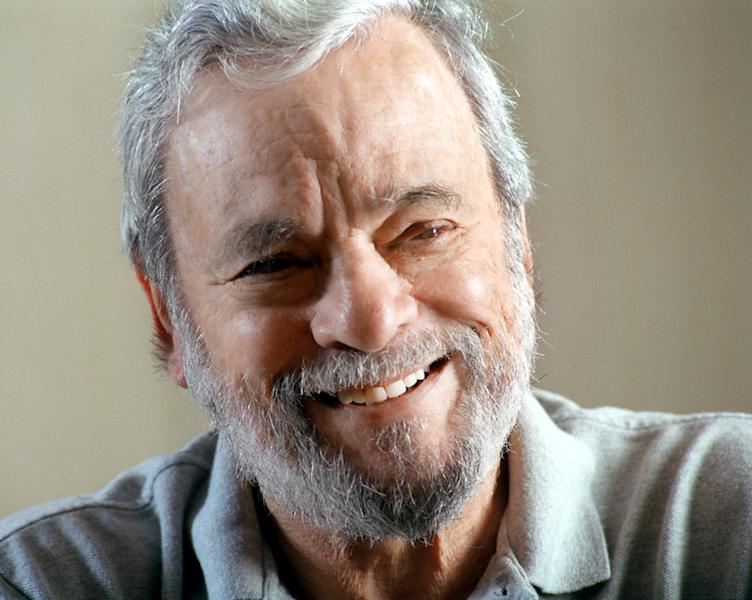"""This image released by HBO shows Stephen Sondheim from """"Six by Sondheim."""" A portrait of the legendary Broadway composer-lyricist whose works include """"Company,"""" """"Sweeney Todd"""" and """"Sunday in the Park with George."""" It was an exhilarating, illuminating look at artistic achievement. (AP Photo/HBO, Jerry Jackson)"""
