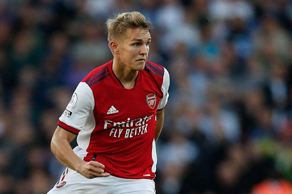 Martin Odegaard ran the show for Arsenal against Tottenham  (IKIMAGES/AFP via Getty Images)