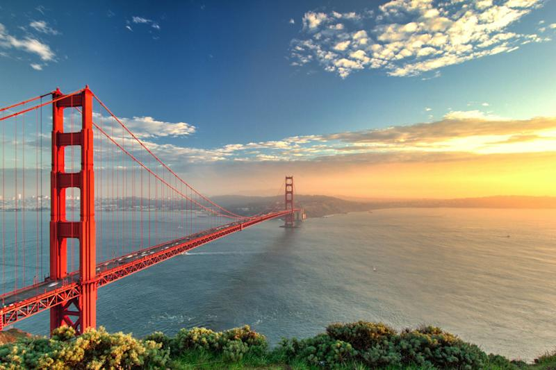 The Golden Gate Bridge, San Francisco, California. <i>(Photo: Getty)</i>