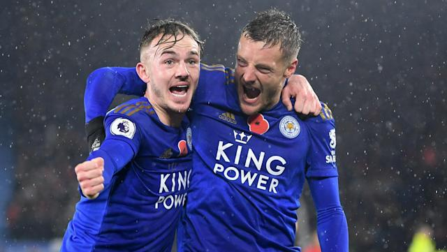 The duo have been in fine form for the Foxes ahead of the international break, but one may be regretting his decision to retire from Three Lions duty