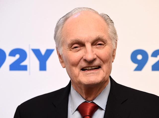 Alan Alda, pictured in 2017, has gone public with hisParkinson's disease diagnosis.. (Photo: Getty Images)