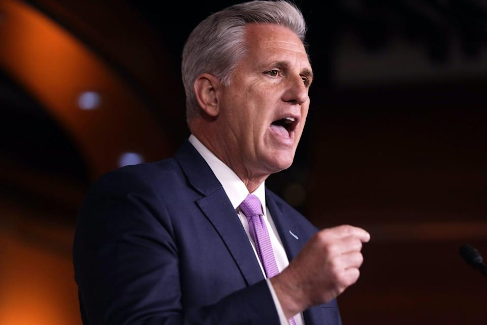 US House Minority Leader Rep. Kevin McCarthy